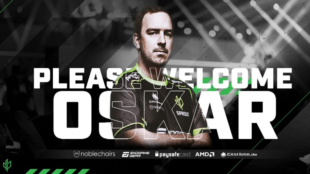 Team Sprout finishes CS:GO roster with dycha signing