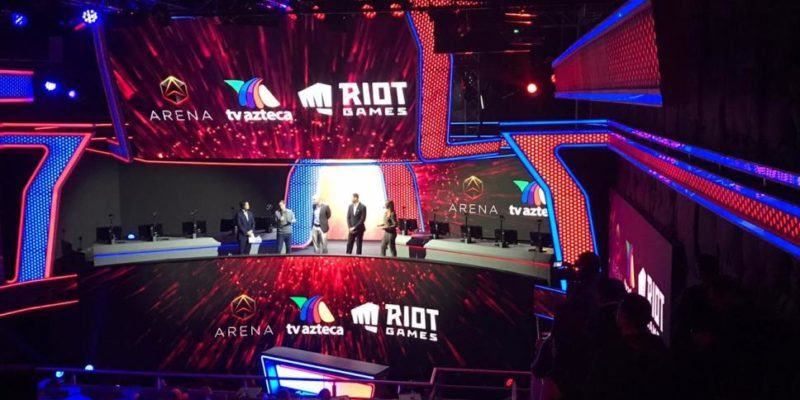 First Mexican Esports Stadium launched by Riot