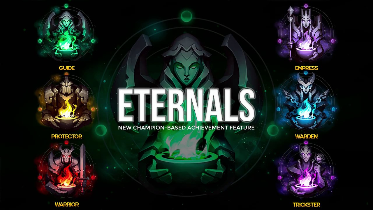 Eternals launched on League of Legends PBE