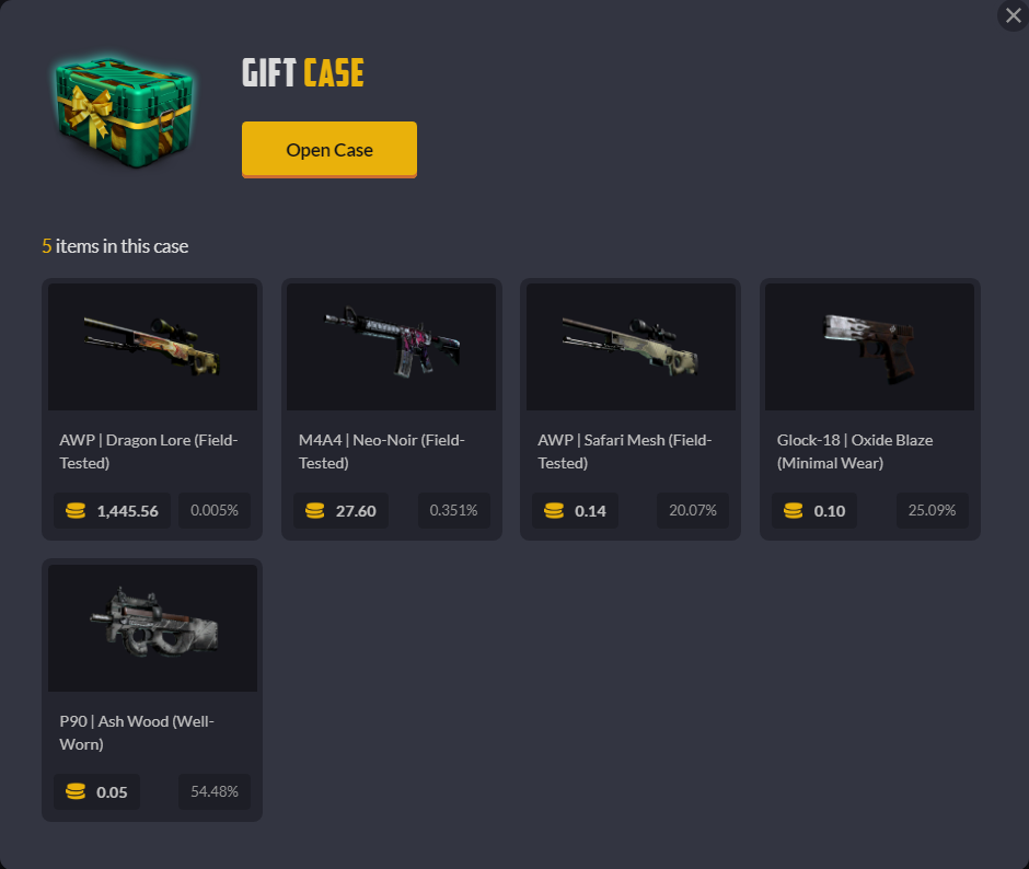 CSGOEmpire Free Code (Free Case) – Latest Codes for CSGOEmpire