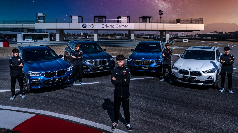 Automaker BMW moves marketing budget on esports