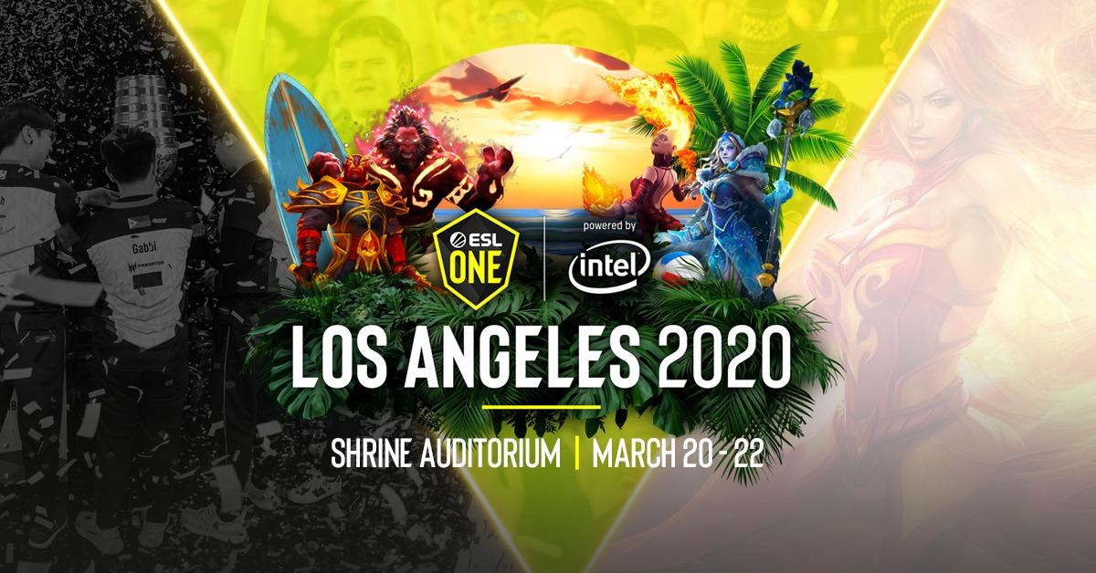 ESL One Los Angeles 2020 Live Stream: How To Watch ESL One Dota 2