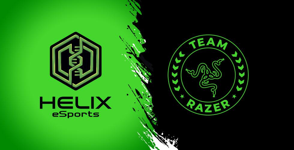 Razor announces exclusive partnership with Helix Esports