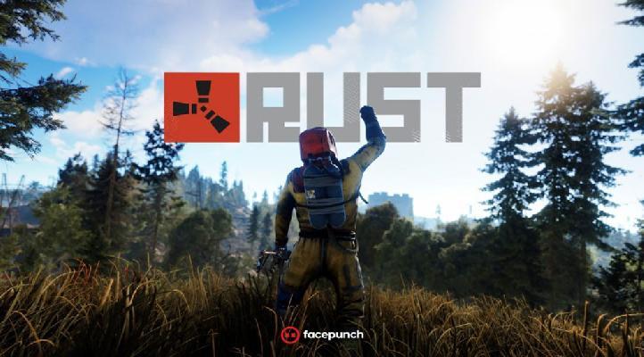 Компьютерная игра симулятора выживания Rust