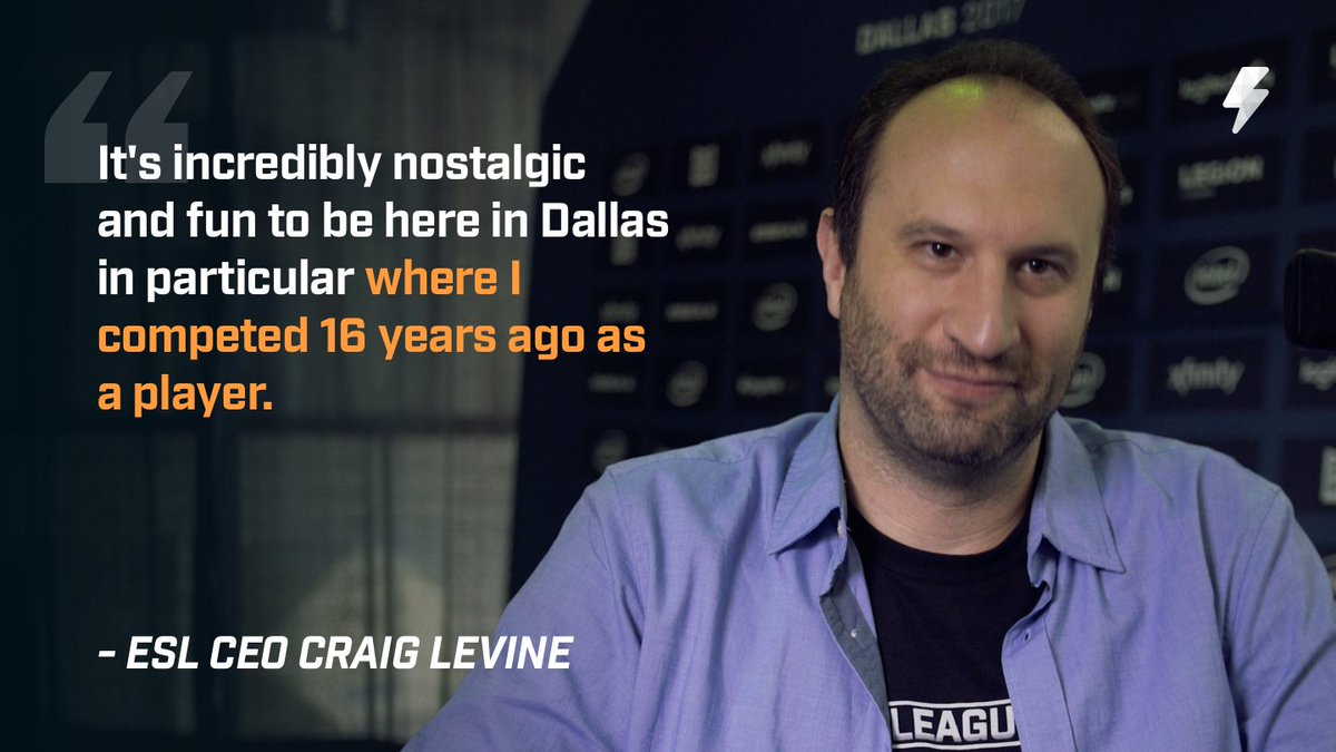 ESL's Latest 'Co-CEO' announced as Craig Levine