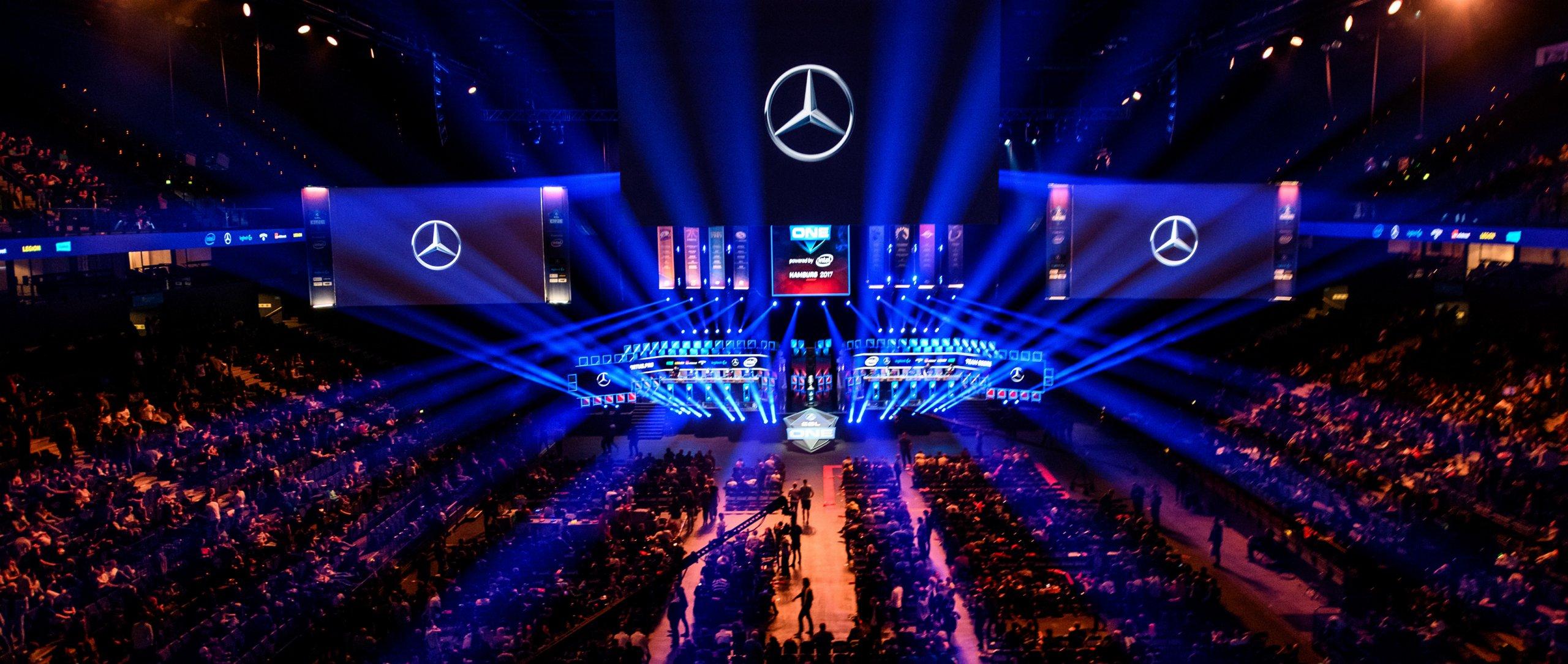 Merecedes Benz now 'Global Partner' of League of Legends Esports