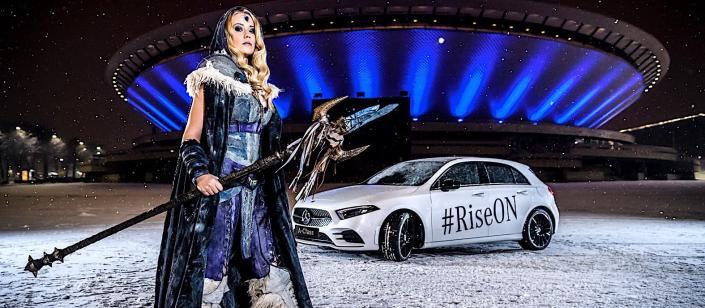 Automaker 'Mercedes Benz' furthers ESL partnership