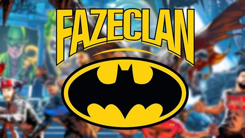 Faze Clan announced collaboration with Batman